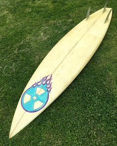 "Check out our Surf clothing here! http://ift.tt/1T8lUJC Just pulled this guy out of the rafters! 6'10"" square tail semi-gun thruster with UltraLite #glassonfins I liked those tiny square tails that Tom Carroll used to ride at Pipe. Shaped her and half a dozen others back in 1990 at a buddies warehouse space next to his recording studio in #beverlyma There were a couple of us who shaped and glassed maybe two dozen boards over a year a two. We had no idea what we were doing!!! We had fun and…"