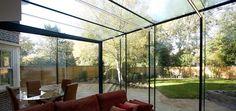 Drax Avenue | Glass Extension | IQGlass 8x3 meter glass