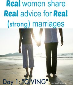 Real women share real advice for real (strong) marriages #marriage #Spouse #love