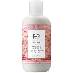 R and Co Bel Air Smoothing Conditioner found on Polyvore featuring beauty products, haircare, hair conditioner, no color, curly hair care and curly hair conditioner