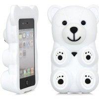 3D White Polar Bear Cute... want!
