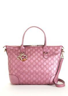 GUCCI Guccissima Medium Tote  Love this pink!!!