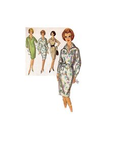Simplicity 5191 Sewing Pattern 1960s Mad by AdeleBeeAnnPatterns