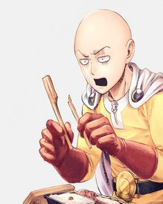 One Punch Man | Saitama -- Caped Baldy