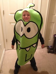 Om nom Halloween costume