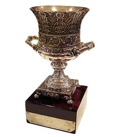Spanish super cup trophy