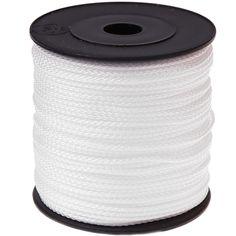 100m PP-Polyester 1,5mm weiß