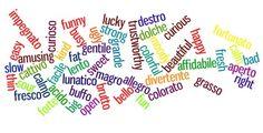 Gli Aggettivi Qualificativi: quantità, valore/opinione/sensazione, dimensione, età, forma, colore, origine, materiale, finalità/scopo