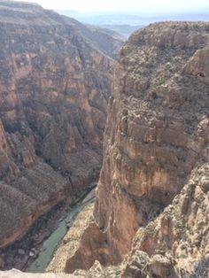 Mariscal Canyon - photo donated by Greg Coldewey 2016