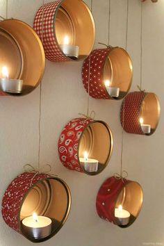 Nice 50 Easy DIY Christmas Decorations Ideas on a Budget https://roomaniac.com/50-easy-diy-christmas-decorations-ideas-budget/ #HomemadeChristmasDecorations,