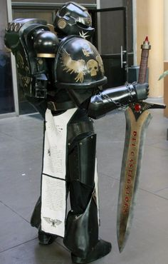 The Emperor's Champion - Warhammer 40k - Cosplay