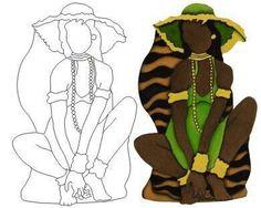 Molde africana 3
