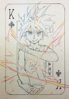 Killua zoldyck Hunter x Hunter