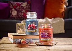 Deux parfums de la nouvelle collection de bougies Yankee Candle