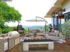 """Check out my #interiordesign """"Outdoor Living"""" from #TheLavenderLemon"""
