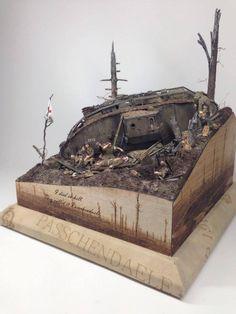 A 1/35th scale diorama Passchendaele by Per Olav Lund