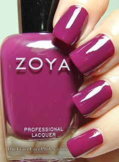 The TraceFace Philes: Zoya Entice Collection! Zoya Margo