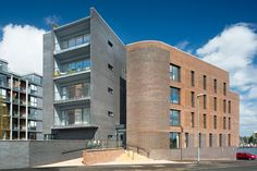 The Point building in New Islington, Blockleys Park Royal Wirecut blend. Download