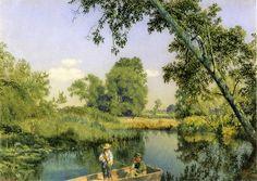 Gone Fishing_John William Hill