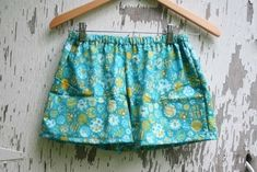 Pajama Shorts  •  Free tutorial with pictures on how to make pyjamas / a nightie in under 60 minutes