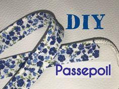 Bonjour, Le passepoil est un joli bourrelet de tissu, qui coincé entre 2 tissus, vient décorer et embellir votre création. Vous pouvez trouver dans le commerce toutes sortes de passepoils mais vous pouvez aussi fabriquer le votre pour qu'il soit assorti...