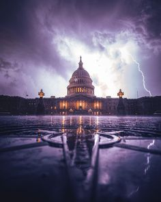 Badass Pictures, Capitol Building, Great Photos, Location History, Washington Dc, Lightning, Taj Mahal, Louvre, The Incredibles
