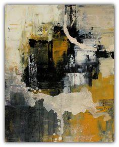Newsprint - Urban Abstract Acrylic Painting