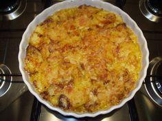 Tortino di patate al gratin