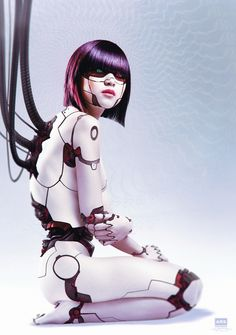 ArtStation - Android Legacy - Akira, Oliver Wetter