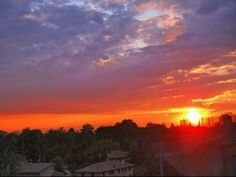 #sunset #Modena #Italy #carpediem