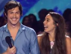 """Couple Alex & Sierra Amaze With """"Sexy"""" 'You're The One That I Want' on X Factor"""