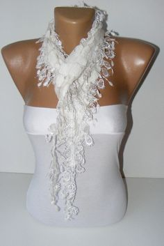 NEW  summer fashion scarvesnew scarf trendsWhite by scarvesCHIC, $15.90