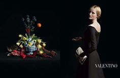 Valentino, l'adv 2013/'14: come in un quadro fiammingo