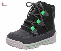 Ricosta 3733900-489, {Chaussures premiers pas pour bébé (garçon) - Gris