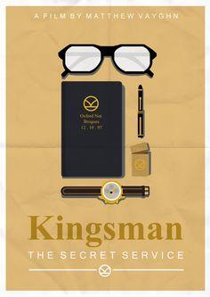 Kingsman Minimalist Poster   Comedy.