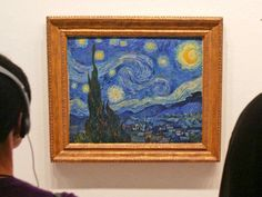 """Starry, turbulent night: Vincent van Gogh's """"The Starry Night"""" may seem fanciful, with its swirling stars and complex brushstrokes. In 2006, though, physicists from the National Autonomous University in Mexico got curious about those swirls and plotted them as if they were real. What they found, reported Nature, was that van Gogh accurately depicted turbulent flow — on a mathematical level."""