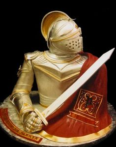 Yes this is a CAKE! :) Knight in Shining Armor - Mike's Amazing Cakes