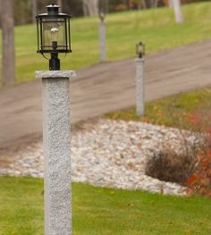 59 Best Granite Lamp Posts Mailbox Posts And Fence Posts