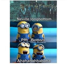 Two of my favorite things combined... Harry Potter and Minions