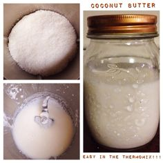 Coconut Butter in the Thermomix - The 4 Blades #thermomix