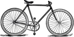 Free Public Domain Bicycle Image! - The Graphics Fairy