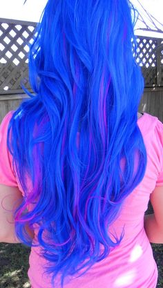 This would be a pretty color if you got streaks in your hair