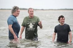 Richard Hammond has damaged his brain after a series of terrible crashes, says Jeremy Clarkson. The TV star was in a coma after crashing at near York while filming Top Gear in Seinfeld, Golden Girls, South Park, Top Gear Funny, Meghan King Edmonds, Clarkson Hammond May, Jeremy Clarkson, Education Humor, Celebration Quotes