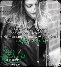 Deep (Stage Dive by Kylie Scott Helena Hunting, Books To Read, My Books, Kylie Scott, The Way I Feel, Book Boyfriends, Book Characters, Book Series, Diving