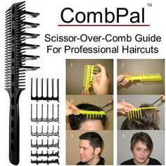 Awesome Combpal Scissor Over Comb Guide Comes With Seven Different Length Hairstyle Inspiration Daily Dogsangcom