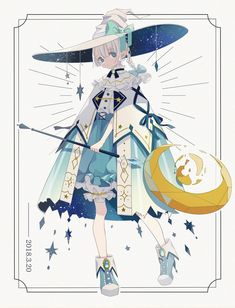Pin by ヒラ toto toto on anime girl in 2019 Fantasy Character Design, Character Design Inspiration, Character Art, Character Costumes, Pretty Art, Cute Art, Witch Art, Character Design References, Animes Wallpapers