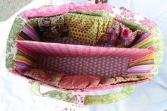 Make the Organized Diaper Bag for any new mother. Sewing a diaper bag isn't difficult and this pattern in particular calls for little material. Use fun, bright colored fabric for a cute, helpful bag.