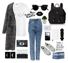 """""""Untitled #26"""" by jemma-armitage ❤ liked on Polyvore featuring Diesel, Kate Spade, Boohoo, Bensimon, Lime Crime, Motel, Linum Home Textiles and denim"""