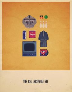 Movies Hipster Kits Posters by © Alizèe Lafon