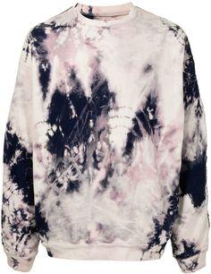 Tie Dye-Print Sweatshirt